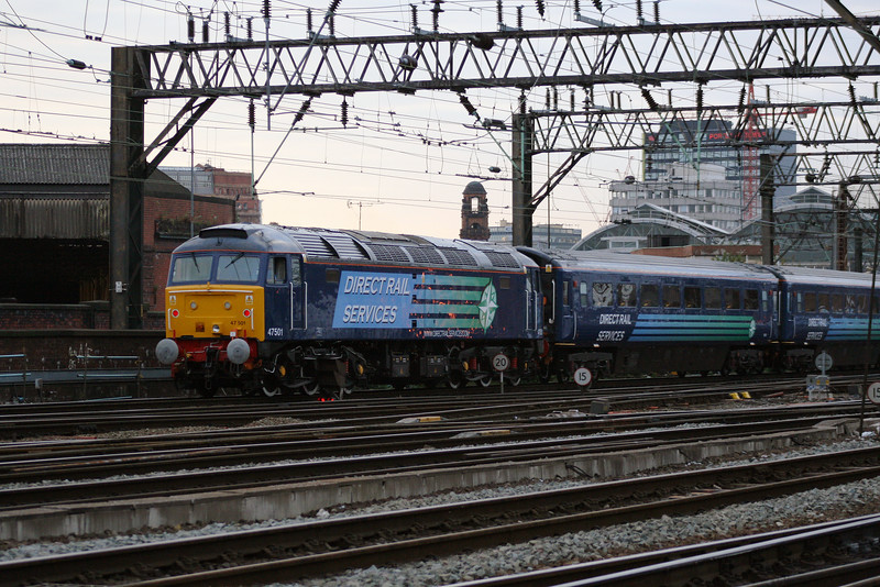 47 501 at Manchester Piccadilly on 29th September 2007