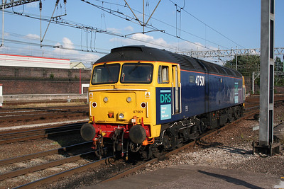 47 501 at Crewe on 17th July 2005 (3)