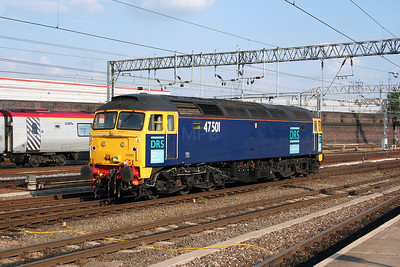 47 501 at Crewe on 17th July 2005 (2)