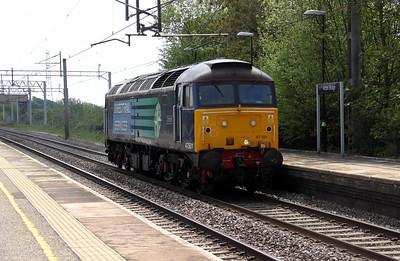 47 501 at Acton Bridge on 18th May 2010.