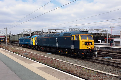 6) 47 727 at Crewe on 12th April 2019