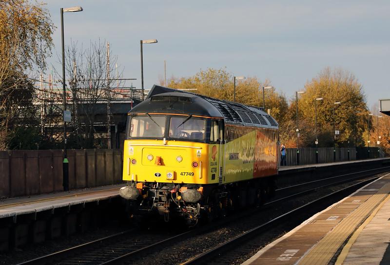 47749 at Tamworth High Level on 17th November 2017