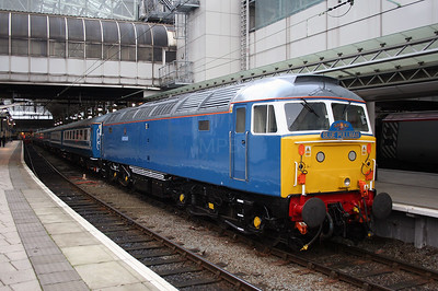 47 709 at Manchester Piccadilly on 5th January 2006 (1)