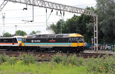 47 712 at Crewe on 14th July 2020