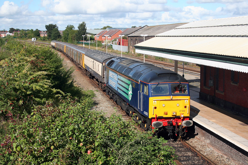 47 802 at Wrexham General on 3rd September 2010 (7)