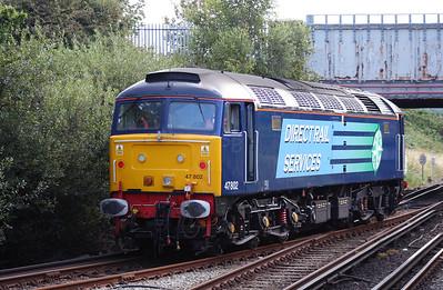 47 802 at Birkenhead North on 3rd September 2007 (5)