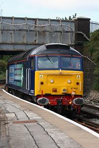 47 802 at Birkenhead North on 3rd September 2007 (2)