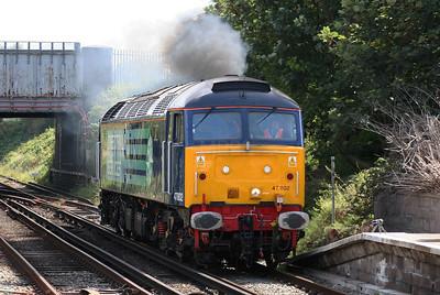 47 802 at Birkenhead North on 3rd September 2007 (7)