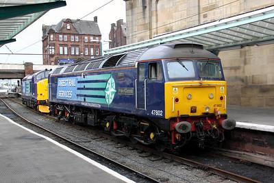 47 802 at Carlisle on 26th September 2009 (2)