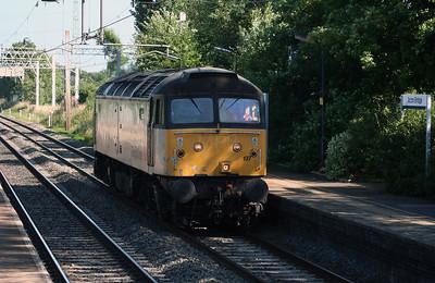 47 197 at Acton Bridge on 16th July 2005