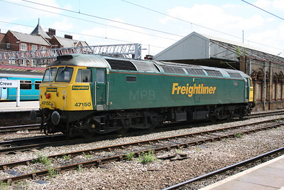 47 150 at Crewe on 26th June 2005 (8)