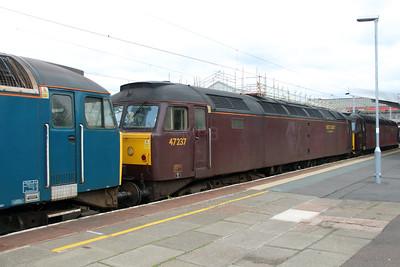 47 237 at Crewe on 14th May 2015 (2)