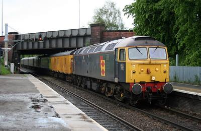 47 145 at Greenbank on 24th May 2006, 1Z14 Crewe to Crewe