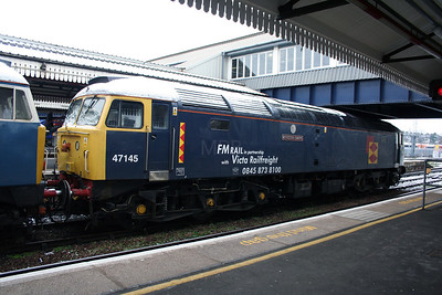 47 145 at Clapham Junction on 24th January 2007 (2)