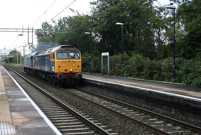 47 237 at Acton Bridge on 24th September 2007