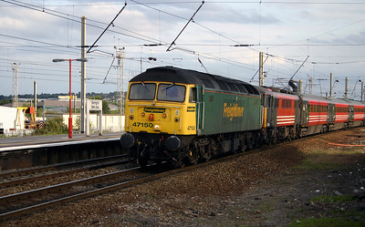 47 150 at Warrington Bank Quay on 18th July 2004