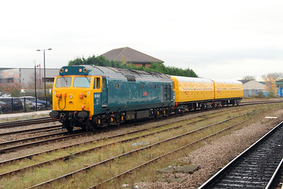 3) 50 007 at Derby on 11th November 2015