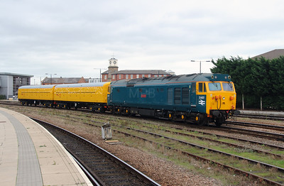 10) 50 007 at Derby on 11th November 2015