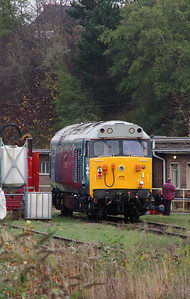 2) 50 008 at Leicester Depot on 11th November 2015