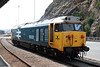 50 031 at Fishguard Harbour on 25th July 2006 (6)