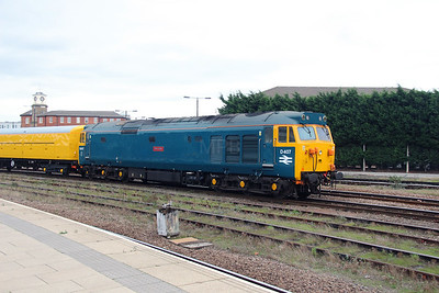11) 50 007 at Derby on 11th November 2015