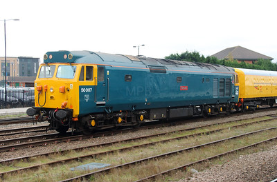2) 50 007 at Derby on 11th November 2015