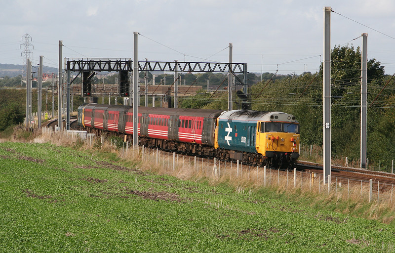 50 031 at Winwick Junction on 19th September 2006 (3)