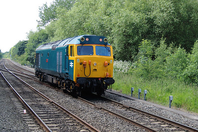 3) 50007 at Coleshill Parkway on 23rd June 2015