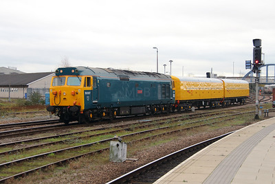 1) 50 007 at Derby on 11th November 2015