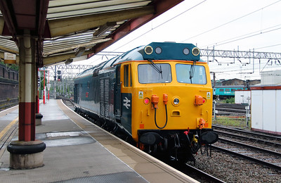 50 007 at Crewe on 28th May 2014 working 0Z47 (11)