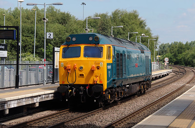 4) 50 007 at Coleshill Parkway on 23rd June 2015