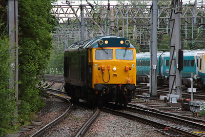 50 007 at Crewe on 28th May 2014 working 0Z47 (3)
