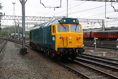 50 007 at Crewe on 28th May 2014 working 0Z47 (7)