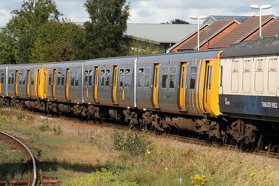 507 001 at Wrexham General on 3rd September 2007 working 7X47 (1)
