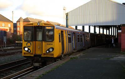 508 114 at Chester on 13th November 2004