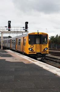 508 115 at Chester on 5th September 2007