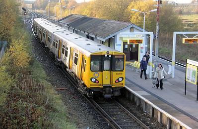 508 115 at Bidston on 19th November 2010