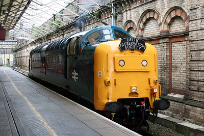 4) 55 019 at Crewe on 3rd July 2005