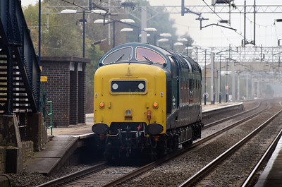 55 022 at Acton Bridge on 3rd October 2007 (2)
