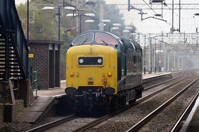 55 022 at Acton Bridge on 3rd October 2007 (2)