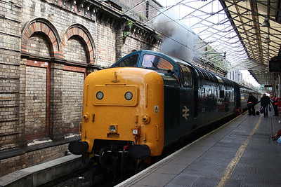 55 019 at Crewe on 3rd July 2005 (4)