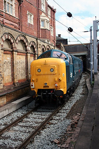 1) 55 019 at Crewe on 3rd July 2005