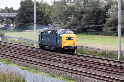 1) 55 022 at Winwick Junction on 20th September 2010