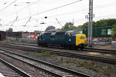 1) 55 022 at Warrington Bank Quay on 4th September 2008