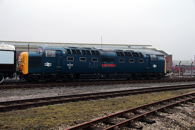1) 55 002 at York NRM on 8th March 2013