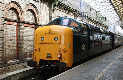 3) 55 019 at Crewe on 3rd July 2005