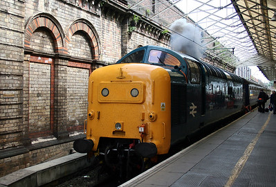 2) 55 019 at Crewe on 3rd July 2005