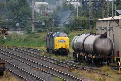 55 022 at Warrington Arpley on 4th September 2008