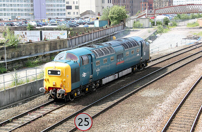 55 022 at Manchester Victoria on 20th June 2011 (11)