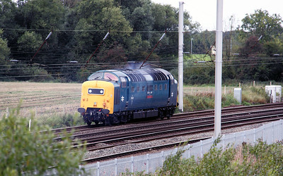 2) 55 022 at Winwick Junction on 20th September 2010